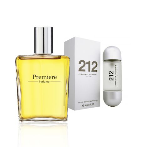 parfum isi ulang wanita Carolina Herrera 212 NYC for Woman